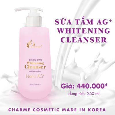 Sua-tam-Charme-Whitening -Cleanser-Nano-Ag+-2