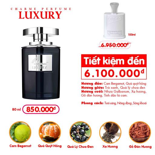 Charme Luxury - Nước Hoa Charme