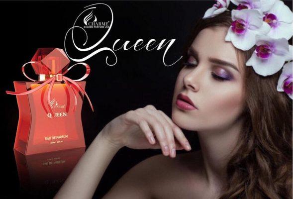 Nước hoa Charme Queen - Nữ hoàng của sự quyến rũ - Nước Hoa Charme